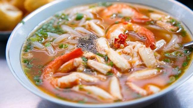 Đặc sắc ẩm thực cháo canh Quảng Bình