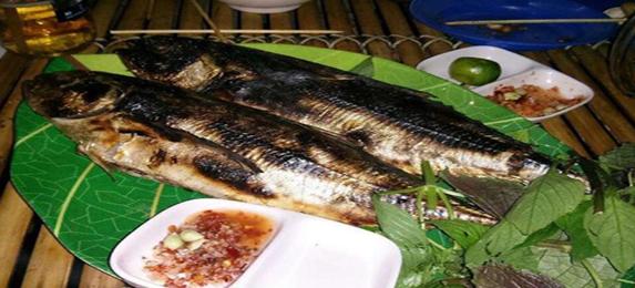 Thưởng thức những chú cá sòng nướng Phú Quốc thơm ngon